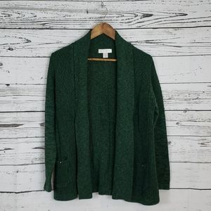 3/15$ Christopher&banks cardigan sweater medium